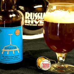 Russian River sour ale... Drool. Gotta get me some of that :)