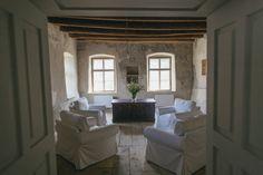 Frescoes room in the former Parish House Visit Romania, Fresco, Transylvania Romania, Country, Interior, Room, House, Inspiration, Design
