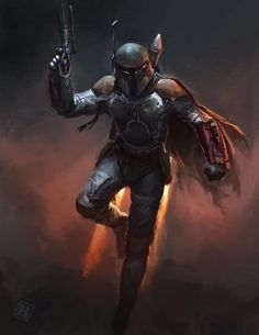 Watch the time-lapse video of this drawing here Who's your favorite Star Wars Character? Boba Fett is definitely on the top . Star Wars Fan Art, Star Wars Day, Star Trek, Boba Fett Movie, Star Wars Boba Fett, Jango Fett, Boba Fett Art, Star Wars Pictures, Star Wars Images