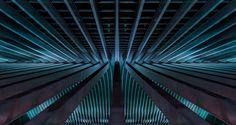Lines Liège-Guillemins by Santiago Calatrava