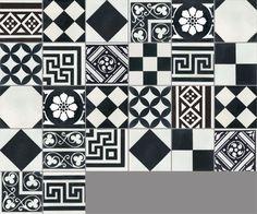 Carreaux de ciment - Les patchworks - Carreau PW 27 - Couleurs