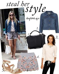 Steal Her Style: Daytime PJ's | www.theglitterguide.com
