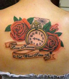 tattoo mit uhr