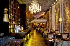 The new Brasserie Pushkin, which has taken over a three-tiered space just an avenue away from the famous Russian Tea Room, has opened to the joy of fancy suit-clad midtowners, sightseeing tourists and those in search of a truly unique New York experience. Will you go? Click through to learn more.