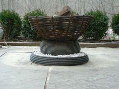 colorado fire bowl | modernmetalwork fire bowl 150x150 Small | Modern | Fire