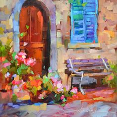 "Dreama Tolle Perry » Artist and Writer » ""Tuscany Outside My Door"""