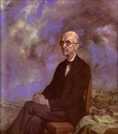 Ignacio Zuloaga - Retrato de Manuel de Falla