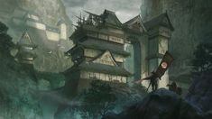Hidden Fortress by KlausPillon.deviantart.com on @deviantART