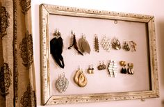 Perfect display of earrings from @Meghan - Bohemian Butterflies