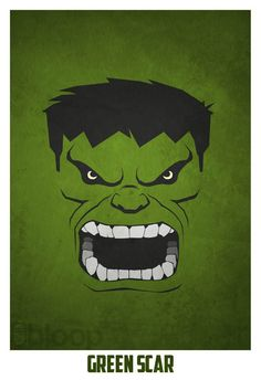 27 Innovative Villain & Superheroes Posters by Bloop