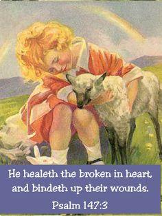 Psalm 147:3 KJV Bible verse