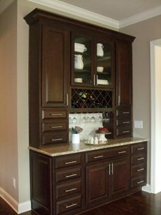 Butler's Pantry - Storage Solution, New Home Trend - Add A Butlers Pantry To Any…