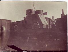 Czech Legion Armored Cars on train, Siberia. Russian Revolution, War Image, Armored Vehicles, World War I, Wwi, Civilization, Steampunk, Army, Military