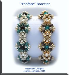 """Fanfare"" - Beadwork Designs by Joanie Jenniges"