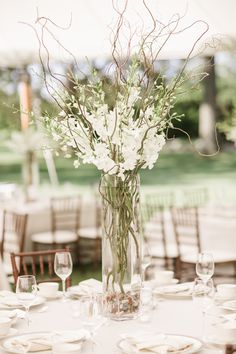 White+Stock+and+Branches+Tall+Centerpiece