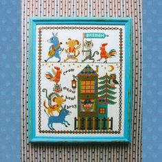 Shop | Category: Embroidery & Cross Stitch | Product: Gera Cross Stitch - Bremen Town Musicians