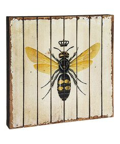 Take a look at this Queen Bee Wall Décor today!