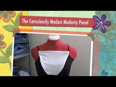 How to Make a Modesty Panel w/Free Pattern