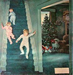 Christmas Morning   (by John Philip Falter)