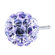 Blomdahl NT Crystal Ball 6mm Violet D