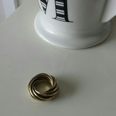 Gold ring This ring would fit a size 6 H&M Jewelry Rings
