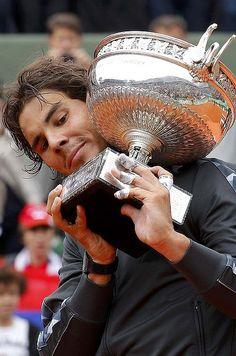 Rafael Nadal ... has now won seven French Open titles.