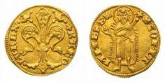 Hungarian King Karoly Robert ducat gold coin 1325. ..............................d