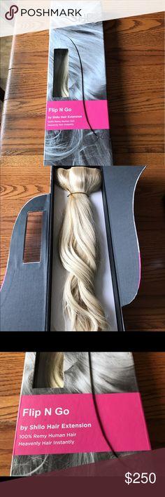 Halo hair extensions platinum blonde 20 inch halo hair hair flip n go hair extension like new light blonde pmusecretfo Images