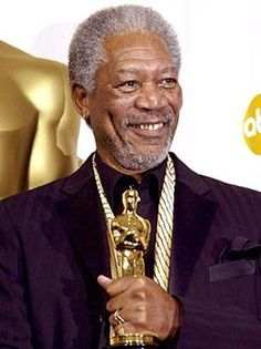 "Morgan Freeman - Best Supporting Actor Oscar for ""Million Dollar Baby"""
