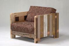 scrap wood chair