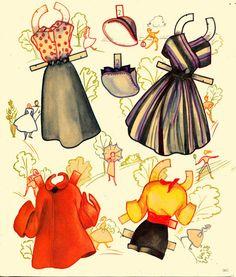 Pert & Pretty paper dolls 1954 Saalfield #2621 - Bobe Green - Picasa Albums Web