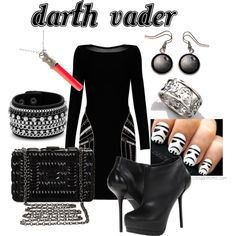 """Star Wars - Darth Vader"" by coloradomom on Polyvore"
