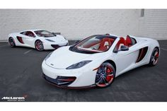 McLaren 12C MSO Project 8 Coupe & Spider