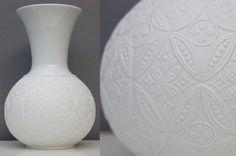 Edelstein+Biskuitvase+/+weiße+Vase+/+von+wohnraumformer+auf+Etsy