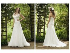 Organza Strapless Sweetheart Elegant Applique Accents A-Line Lucky Wedding Dress