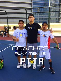 Philippine Tennis Coaches @ThePTTA #Philippine #Tennis #training #lessons #ortigas #pasig #PhilippineTennis #PerkinsTwinsTennis
