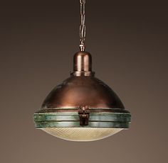 this sphere of coppery-amazingness is on it's way to me, and to grace my kitchen table!
