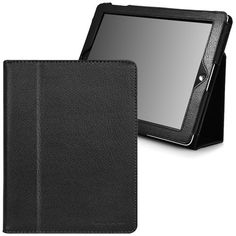 CaseCrown Bold Standby Case (Black) for the new iPad  iPad 2 (Built-in magnet for sleep / wake feature)
