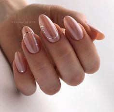 Are you looking some Different Nail Designs for your finger? Just explore here and must try out this Simple Nail style and get the unique look in these days. You may find here the More Latest Manicure style to make your finger more beautiful and stylish. Cute Simple Nails, Cute Nails, Pretty Nails, Bright Nails, Pink Nails, Silver Nails, Cute Easy Nail Designs, Uñas Fashion, Broken Nails