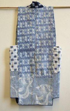 A Sashiko Stitched Vest from Tohoku | SRI Threads