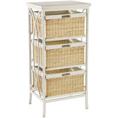 Pier 1 Imports Logan Medium Chest (6.590 RUB) ❤ liked on Polyvore featuring home, home decor, small item storage, white, rustic basket, hand made baskets, hand woven basket, handwoven baskets and pier 1 imports