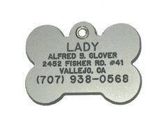 Bone Shaped Dog Cat Pet ID Tag Custom Engraved Acrylic Plastic 6 Colors  3 Sizes to Choose From Message Seller with Engraving Information >>> You can get more details by clicking on the image. Note: It's an affiliate link to Amazon.