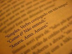 Conjugar verbo, é simples.
