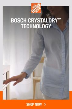 Bosch 800 Series Top Control Tall Tub Bar Handle Dishwasher in Stainless Steel with Stainless Steel Tub, CrystalDry, - The Home Depot