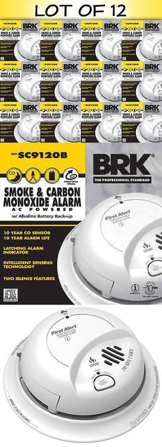 Other Smoke and Gas Detectors 41970 First Alert Sc9120b Combination