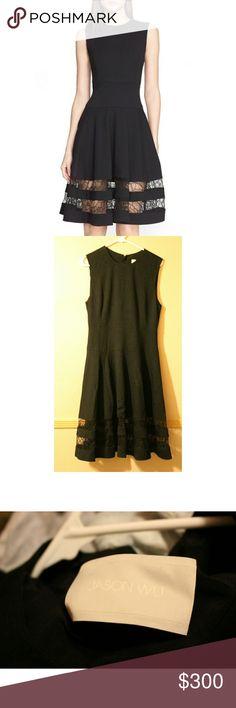 NWT Jason Wu fit-and-flare organza dress Woooww this dress in Jason Wu at his finest. Fits a M or L Jason Wu Dresses Midi