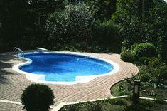Kidney Swimming Pool Kits