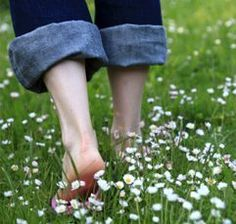 Walk Barefoot on the Grass to Energize Your Body - very interesting article - and obvious because the earth is the home made just for us. :)