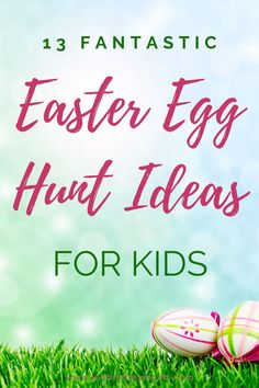 Plan the best Easter egg hunt ever with these 13 unique Easter egg hunt ideas! #easteregghunt #easteregghuntideas #easteregghuntparty #easteregghuntideasfortoddlers #easteregghuntideasforolderkids Easter Games, Easter Activities, Holiday Activities, Toddler Activities, Fun Crafts For Kids, Projects For Kids, Easter Crafts, Easter Ideas, Plastic Easter Eggs