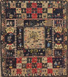 The V&A holds a rich variety of objects created through quilting and patchwork. Quilts Vintage, Antique Quilts, Vintage Textiles, Bonnie Hunter, Penny Rugs, Nine Patch, Quilt Festival, Twinkle Twinkle Little Star, Vintage Star